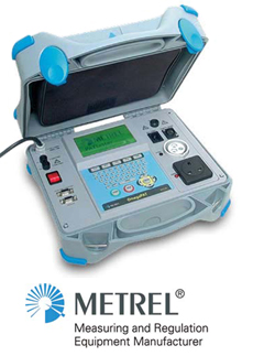 Metrel testing equipment